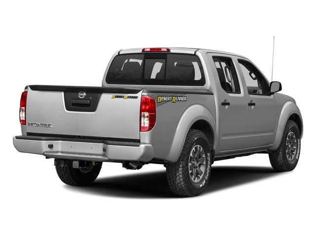 Brilliant Silver 2016 Nissan Frontier Pictures Frontier Crew Cab Desert Runner 2WD photos rear view