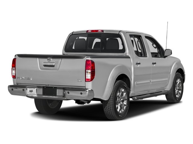 Brilliant Silver 2016 Nissan Frontier Pictures Frontier Crew Cab SL 4WD photos rear view