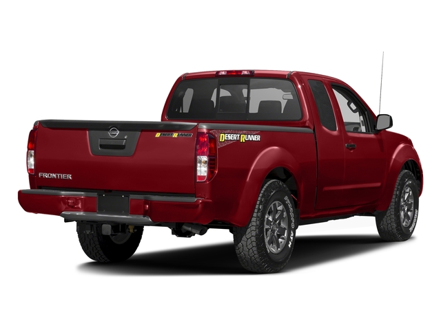 Lava Red 2016 Nissan Frontier Pictures Frontier King Cab Desert Runner 2WD photos rear view