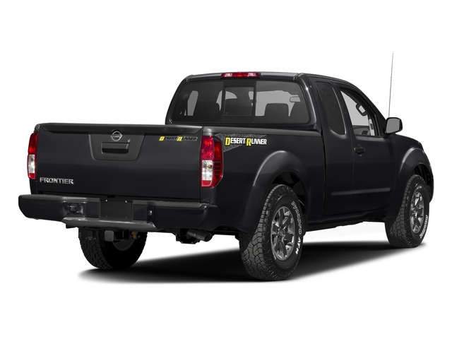 Magnetic Black 2016 Nissan Frontier Pictures Frontier King Cab Desert Runner 2WD photos rear view