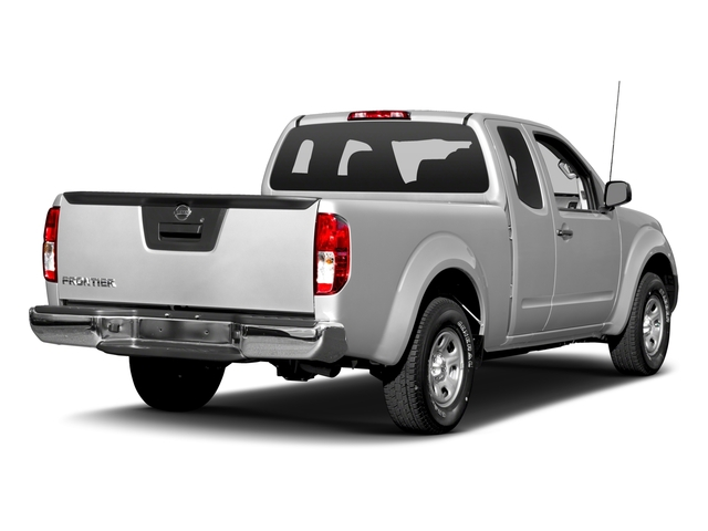 Brilliant Silver 2016 Nissan Frontier Pictures Frontier King Cab S 2WD photos rear view