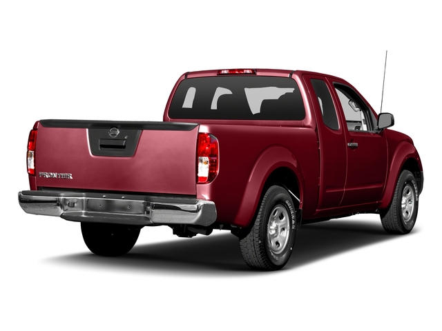 Cayenne Red 2016 Nissan Frontier Pictures Frontier King Cab S 2WD photos rear view