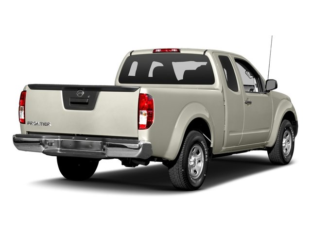 Glacier White 2016 Nissan Frontier Pictures Frontier King Cab S 2WD photos rear view