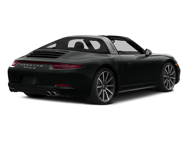 Jet Black Metallic 2016 Porsche 911 Pictures 911 Coupe 2D 4 GTS Targa AWD H6 photos rear view