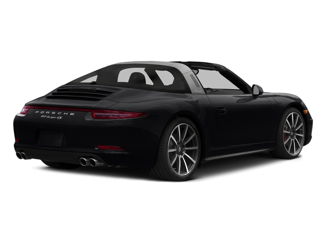 Black 2016 Porsche 911 Pictures 911 Coupe 2D 4 Targa AWD photos rear view