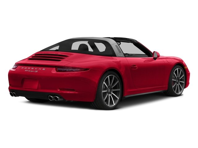 Guards Red 2016 Porsche 911 Pictures 911 Coupe 2D 4S Targa AWD photos rear view