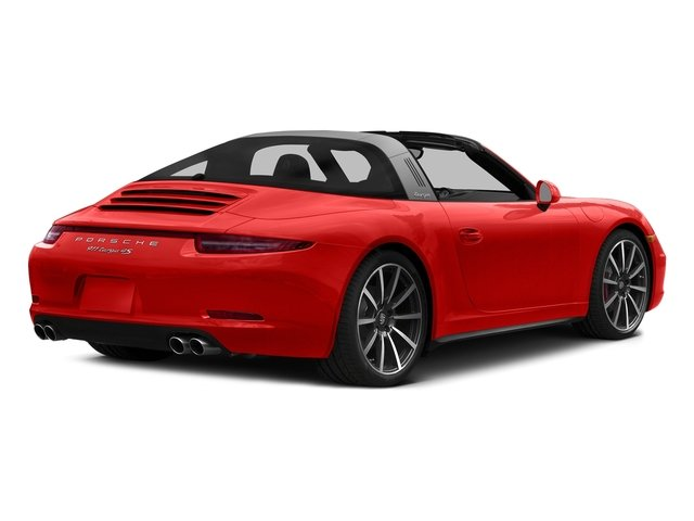 Lava Orange 2016 Porsche 911 Pictures 911 Coupe 2D 4 Targa AWD photos rear view