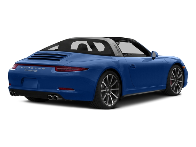 Sapphire Blue Metallic 2016 Porsche 911 Pictures 911 Coupe 2D 4S Targa AWD photos rear view