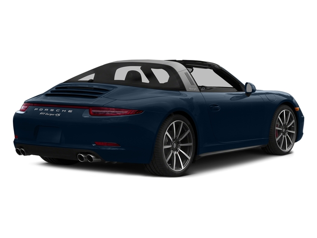 Dark Blue Metallic 2016 Porsche 911 Pictures 911 Coupe 2D 4S Targa AWD photos rear view