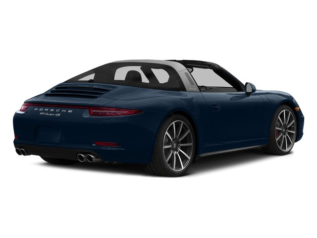 Dark Blue Metallic 2016 Porsche 911 Pictures 911 Coupe 2D 4 Targa AWD photos rear view