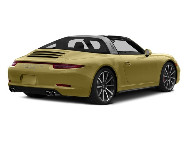 Lime Gold Metallic 2016 Porsche 911 Pictures 911 Coupe 2D 4 Targa AWD photos rear view