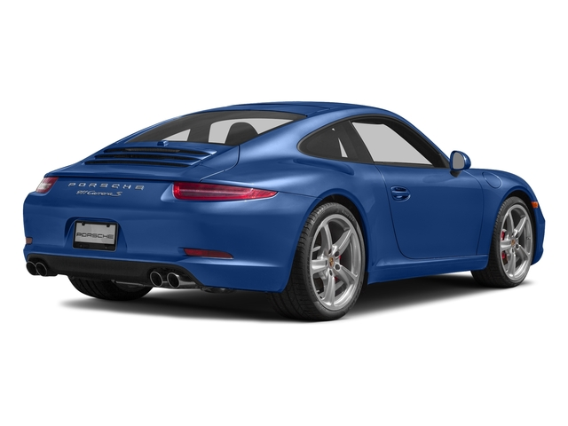 Sapphire Blue Metallic 2016 Porsche 911 Pictures 911 Coupe 2D S H6 photos rear view