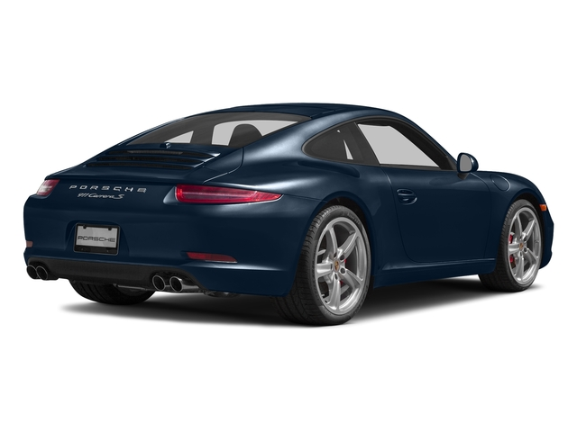 Dark Blue Metallic 2016 Porsche 911 Pictures 911 Coupe 2D S H6 photos rear view