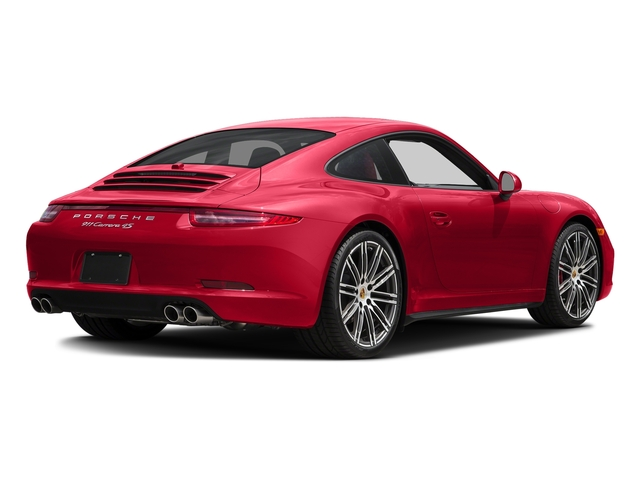Guards Red 2016 Porsche 911 Pictures 911 Coupe 2D 4S AWD H6 photos rear view
