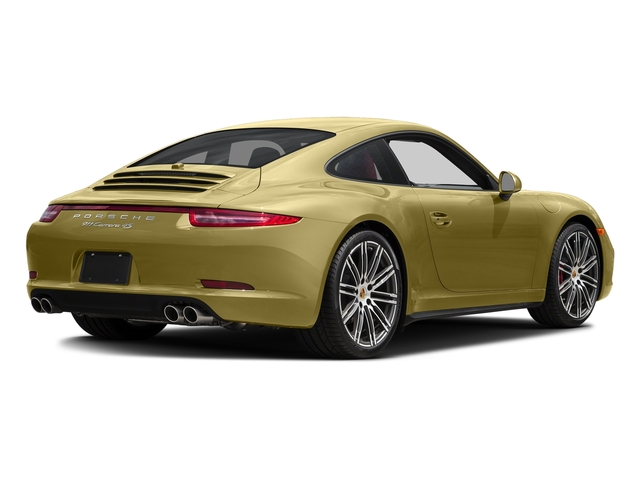 Lime Gold Metallic 2016 Porsche 911 Pictures 911 Coupe 2D 4 GTS AWD H6 photos rear view