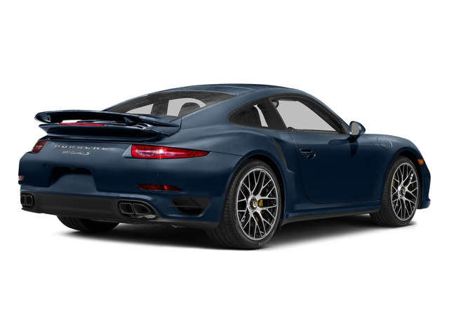 Dark Blue Metallic 2016 Porsche 911 Pictures 911 Coupe 2D Turbo AWD H6 photos rear view