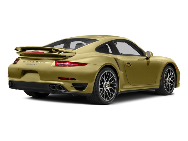Lime Gold Metallic 2016 Porsche 911 Pictures 911 Coupe 2D Turbo AWD H6 photos rear view