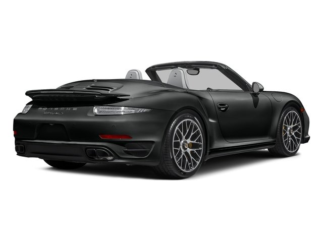 Jet Black Metallic 2016 Porsche 911 Pictures 911 Cabriolet 2D AWD H6 Turbo photos rear view
