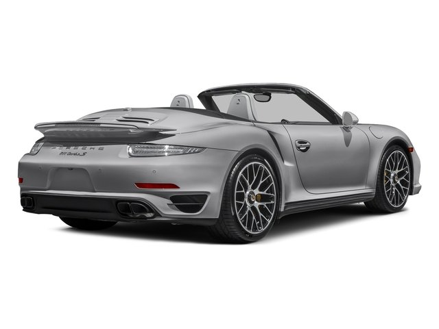 GT Silver Metallic 2016 Porsche 911 Pictures 911 Cabriolet 2D AWD H6 Turbo photos rear view