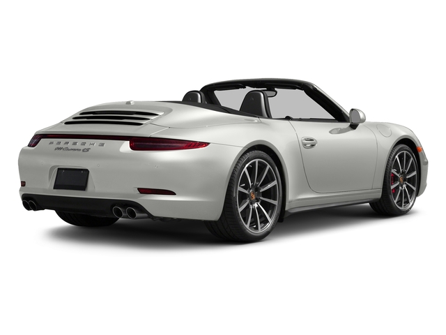 White 2016 Porsche 911 Pictures 911 Cabriolet 2D 4S AWD H6 photos rear view