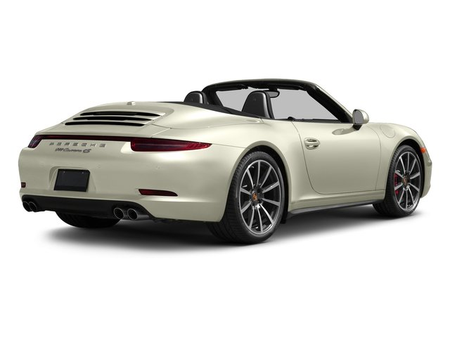 Carrera White Metallic 2016 Porsche 911 Pictures 911 Cabriolet 2D 4S AWD H6 photos rear view