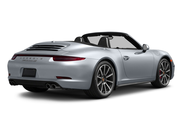 Rhodium Silver Metallic 2016 Porsche 911 Pictures 911 Cabriolet 2D 4S AWD H6 photos rear view
