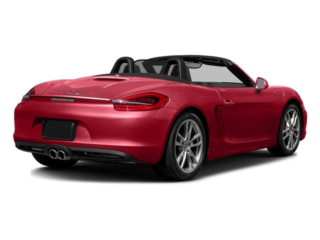 Carmine Red 2016 Porsche Boxster Pictures Boxster Roadster 2D GTS H6 photos rear view
