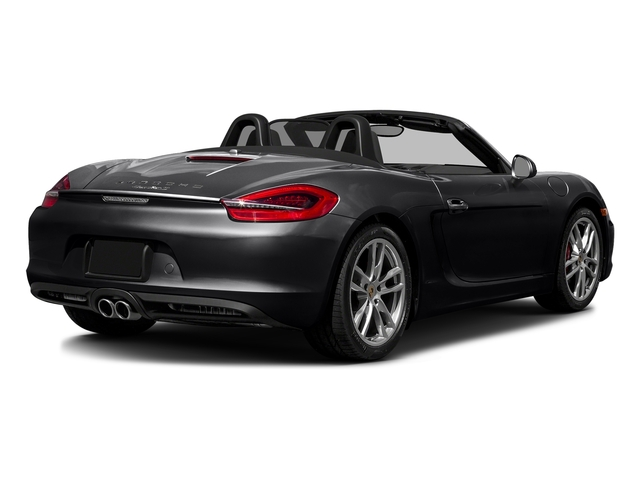 Black 2016 Porsche Boxster Pictures Boxster Roadster 2D GTS H6 photos rear view