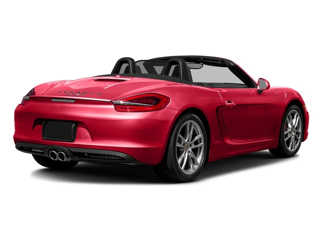 Guards Red 2016 Porsche Boxster Pictures Boxster Roadster 2D GTS H6 photos rear view