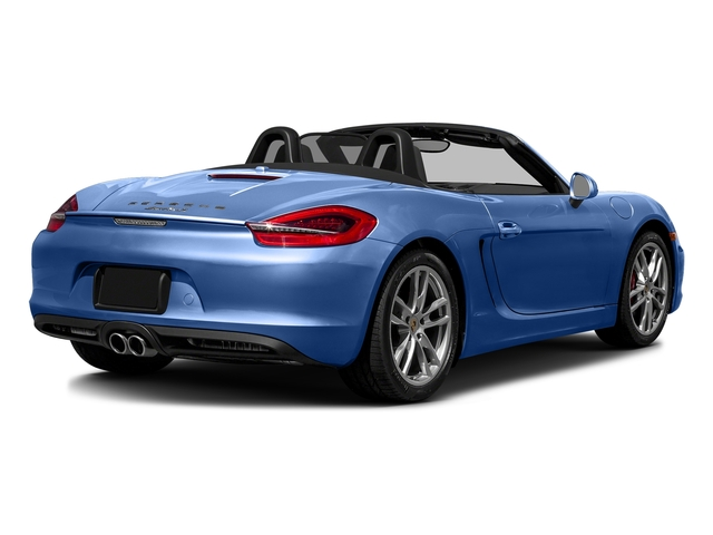 Sapphire Blue Metallic 2016 Porsche Boxster Pictures Boxster Roadster 2D GTS H6 photos rear view