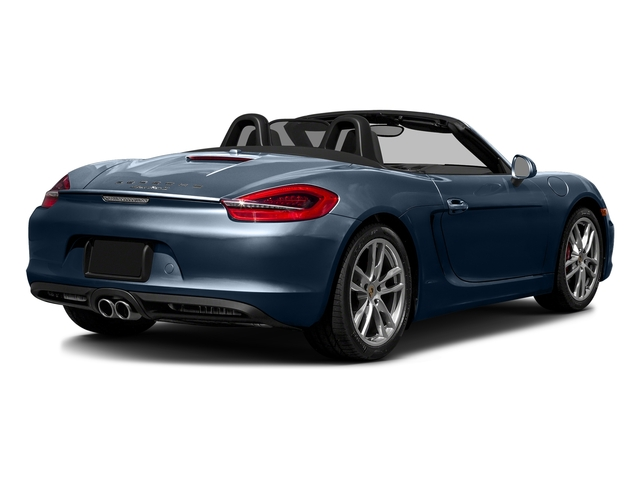Dark Blue Metallic 2016 Porsche Boxster Pictures Boxster Roadster 2D GTS H6 photos rear view