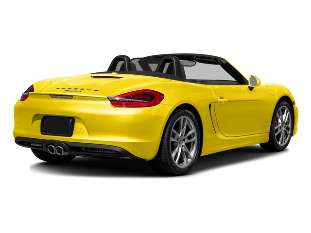 Racing Yellow 2016 Porsche Boxster Pictures Boxster Roadster 2D GTS H6 photos rear view