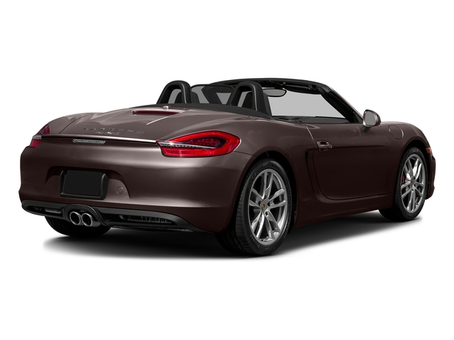 Mahogany Metallic 2016 Porsche Boxster Pictures Boxster Roadster 2D GTS H6 photos rear view