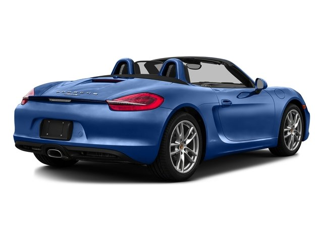 Sapphire Blue Metallic 2016 Porsche Boxster Pictures Boxster Roadster 2D H6 photos rear view
