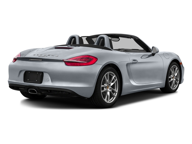 Rhodium Silver Metallic 2016 Porsche Boxster Pictures Boxster Roadster 2D H6 photos rear view