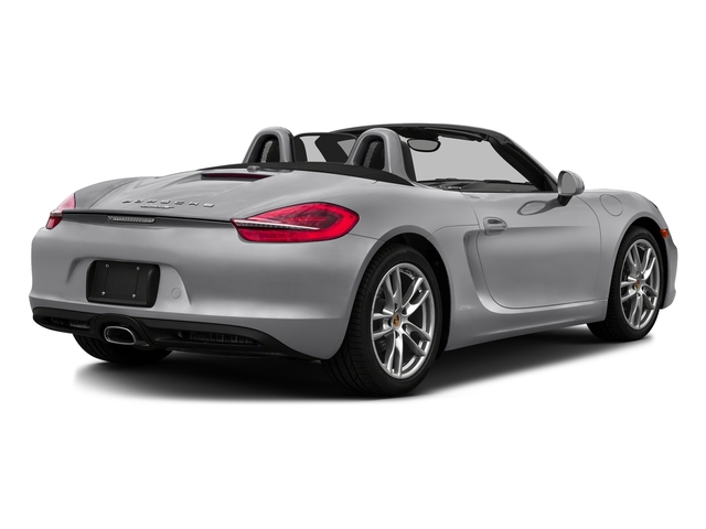 GT Silver Metallic 2016 Porsche Boxster Pictures Boxster Roadster 2D H6 photos rear view
