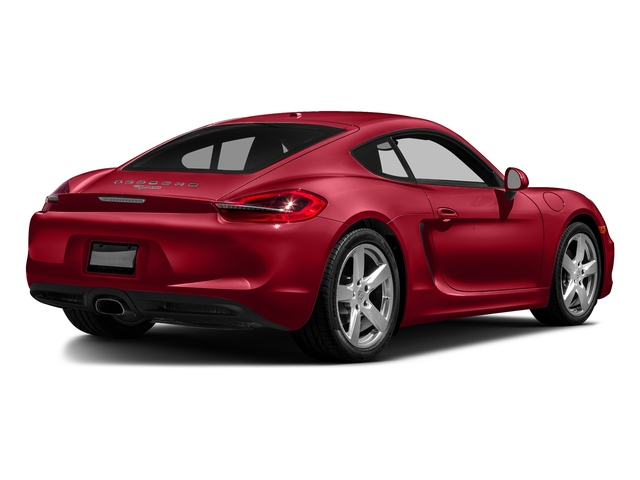 Carmine Red 2016 Porsche Cayman Pictures Cayman Coupe 2D H6 photos rear view