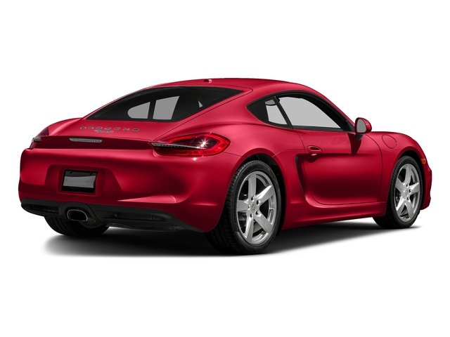 Guards Red 2016 Porsche Cayman Pictures Cayman Coupe 2D H6 photos rear view