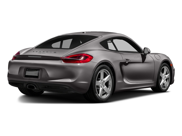 Agate Gray Metallic 2016 Porsche Cayman Pictures Cayman Coupe 2D H6 photos rear view