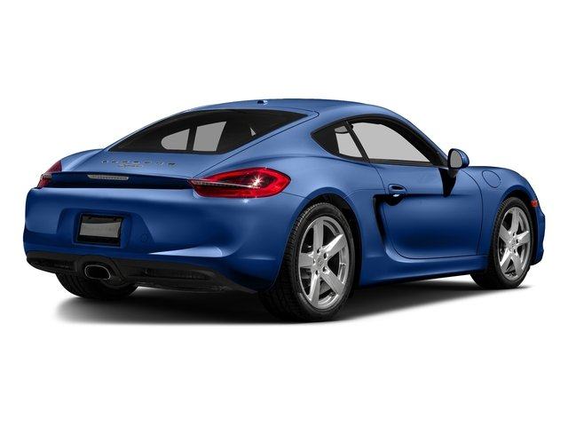 Sapphire Blue Metallic 2016 Porsche Cayman Pictures Cayman Coupe 2D H6 photos rear view