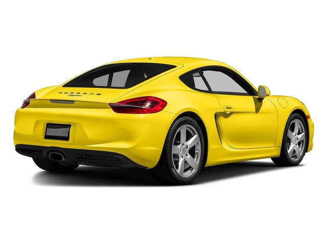 Racing Yellow 2016 Porsche Cayman Pictures Cayman Coupe 2D H6 photos rear view