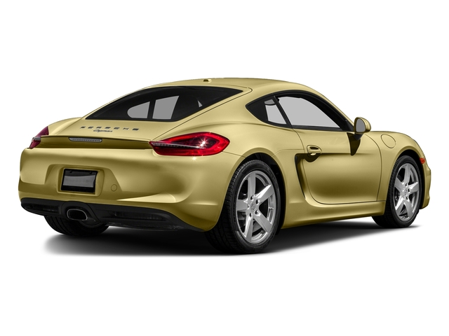 Lime Gold Metallic 2016 Porsche Cayman Pictures Cayman Coupe 2D H6 photos rear view