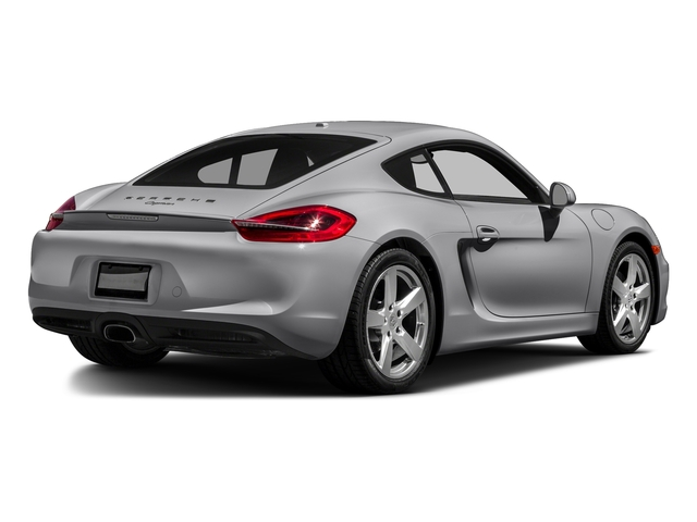 GT Silver Metallic 2016 Porsche Cayman Pictures Cayman Coupe 2D H6 photos rear view
