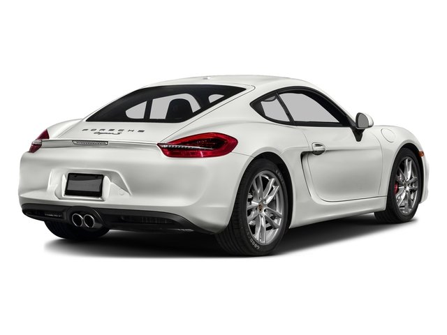 White 2016 Porsche Cayman Pictures Cayman Coupe 2D S H6 photos rear view