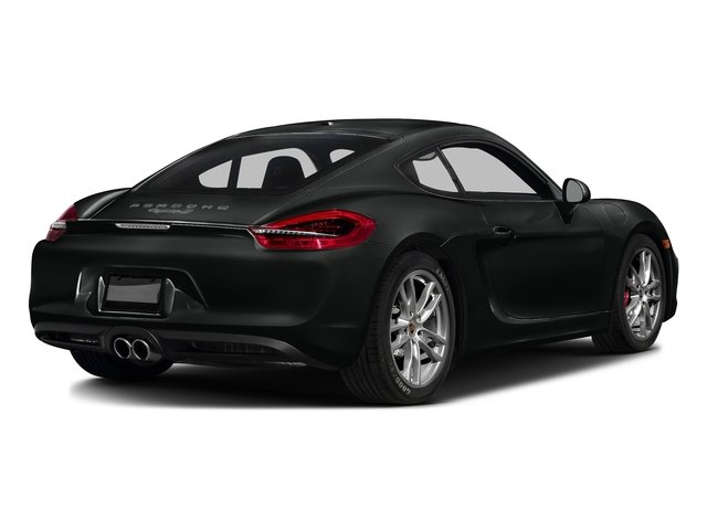 Jet Black Metallic 2016 Porsche Cayman Pictures Cayman Coupe 2D S H6 photos rear view