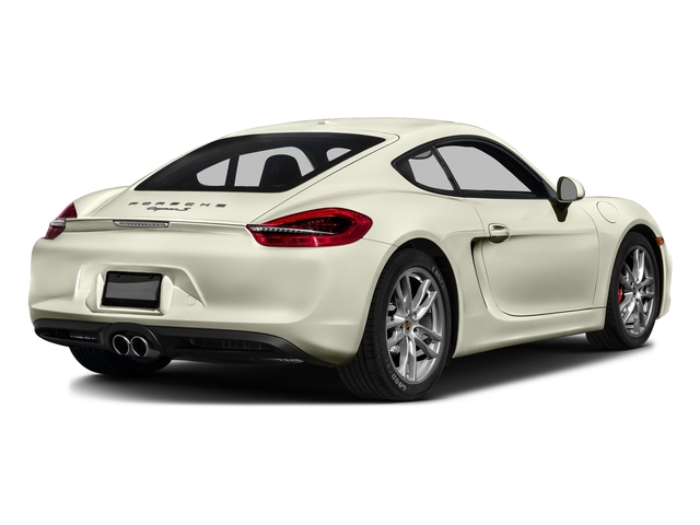 Carrara White Metallic 2016 Porsche Cayman Pictures Cayman Coupe 2D S H6 photos rear view