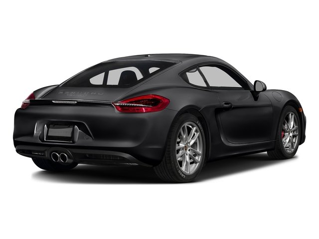 Black 2016 Porsche Cayman Pictures Cayman Coupe 2D S H6 photos rear view