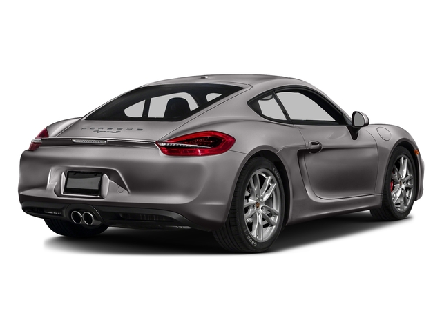 Agate Gray Metallic 2016 Porsche Cayman Pictures Cayman Coupe 2D S H6 photos rear view