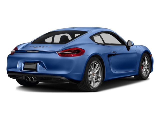 Sapphire Blue Metallic 2016 Porsche Cayman Pictures Cayman Coupe 2D S H6 photos rear view