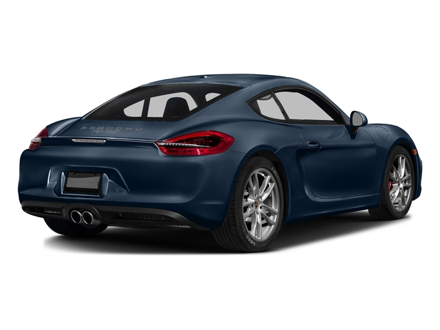 Dark Blue Metallic 2016 Porsche Cayman Pictures Cayman Coupe 2D S H6 photos rear view